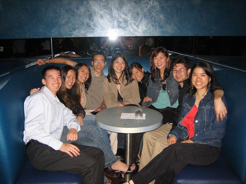 2005 06 04 Saturday - Velvet Lounge - Group pic 2