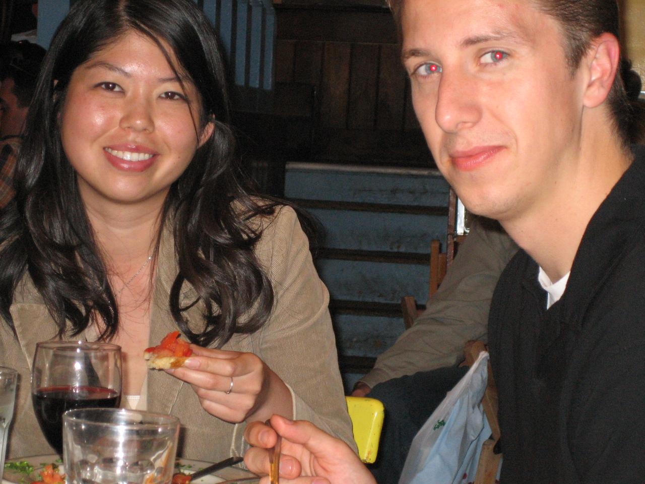 2005 06 04 Saturday - Evelyn & Matt 2