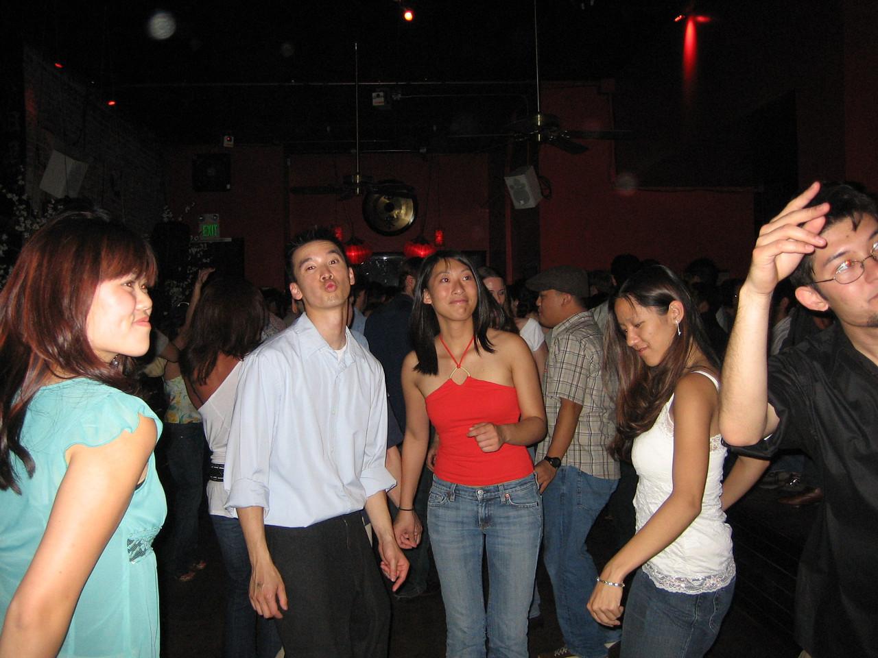 2005 06 04 Saturday - Dragon Bar - Brian puckers up