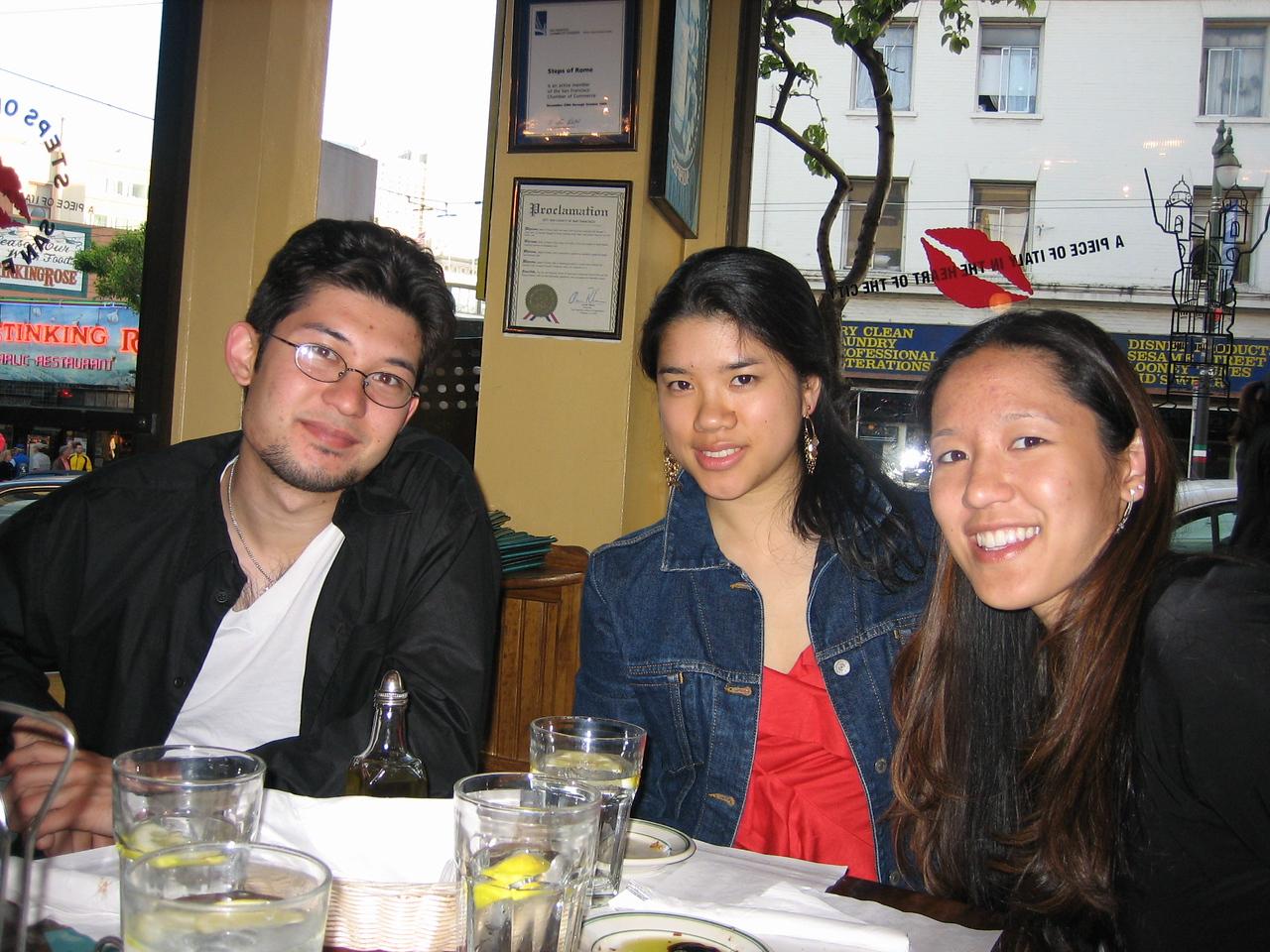2005 06 04 Saturday - Kyle, Winita, & Joyce
