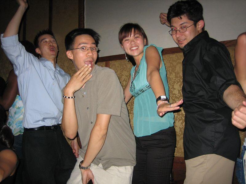 2005 06 04 Saturday - Dragon Bar - Sandwich - A girl's dream come true 2