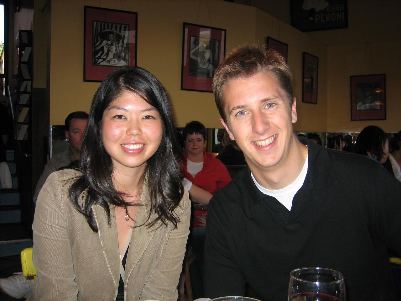 2005 06 04 Saturday - Evelyn & Matt 1