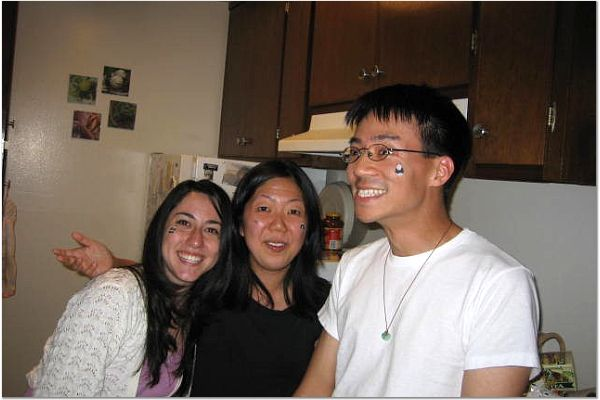 Michelle Gunari, Lisa Chang, & Ben Yu