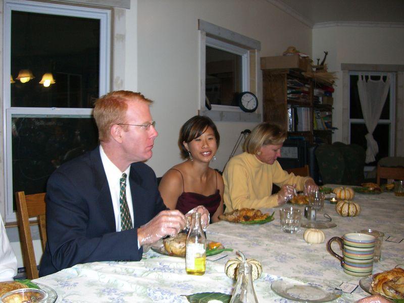 Ken Clifford, Robin Chang, & Sarah Clifford