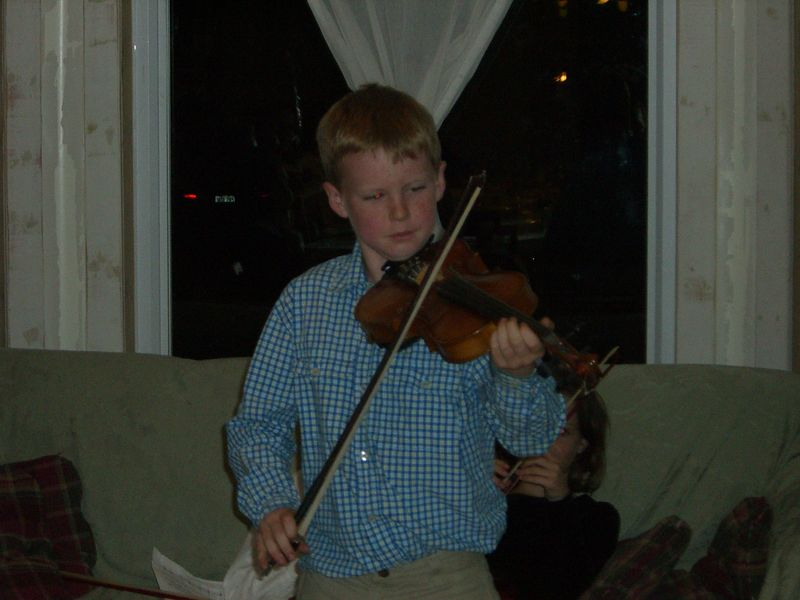 James Clifford violin solo
