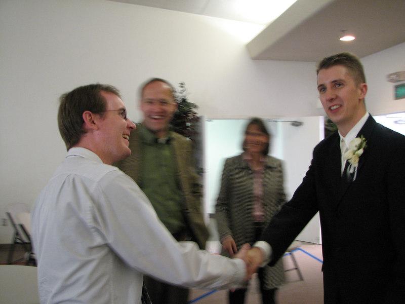 2006 11 25 Sat - Joe Fassler meets Matt Onsum