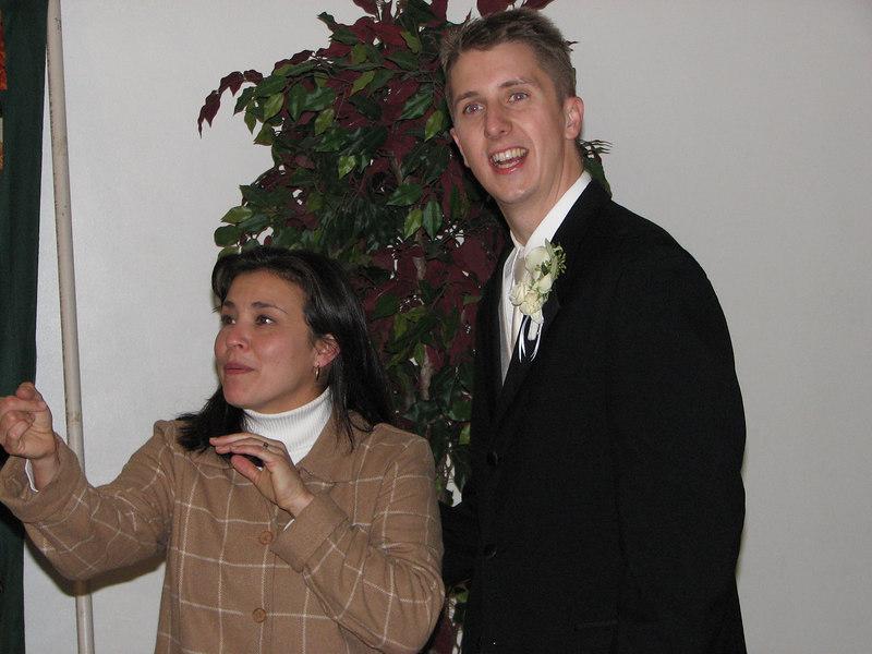 2006 11 25 Sat - Ma Lourdes Jensen & Matt Onsum