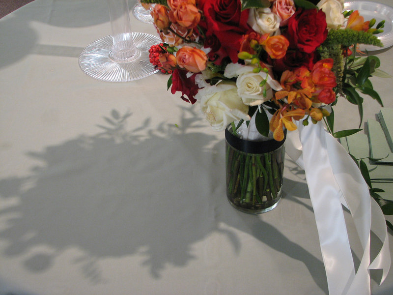 2006 11 25 Sat - Flowers and shadow