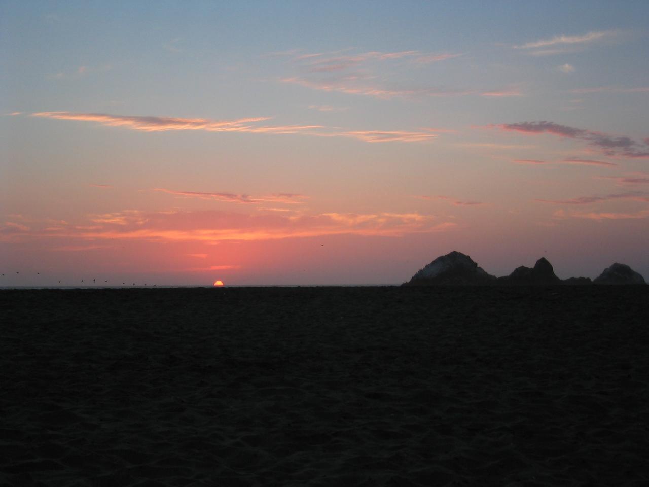 Sunset - dark