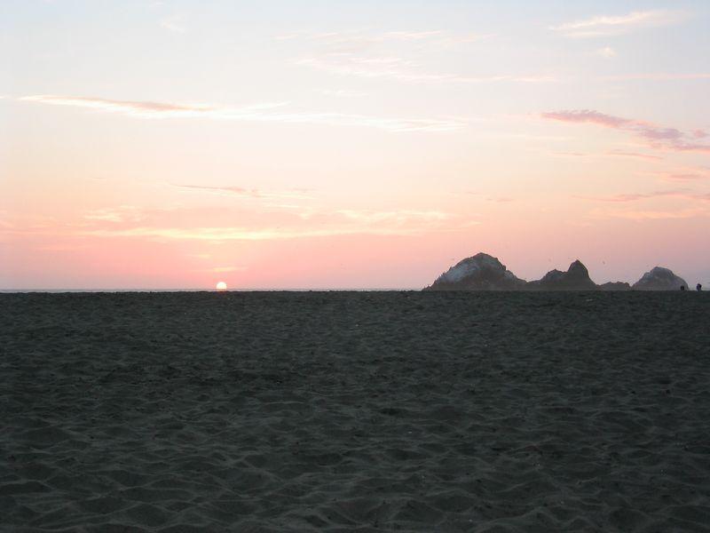 Sunset - bright