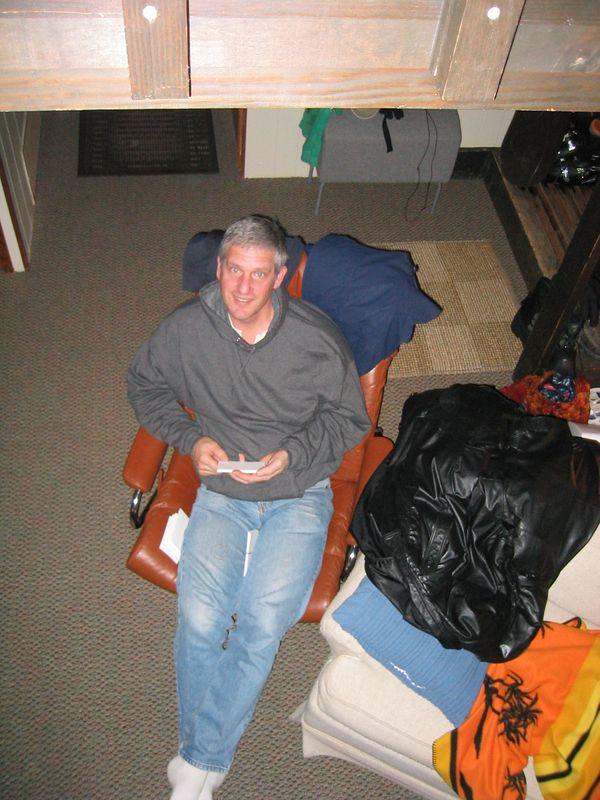 2005 01 29 Saturday - Studious Mr  Jensen