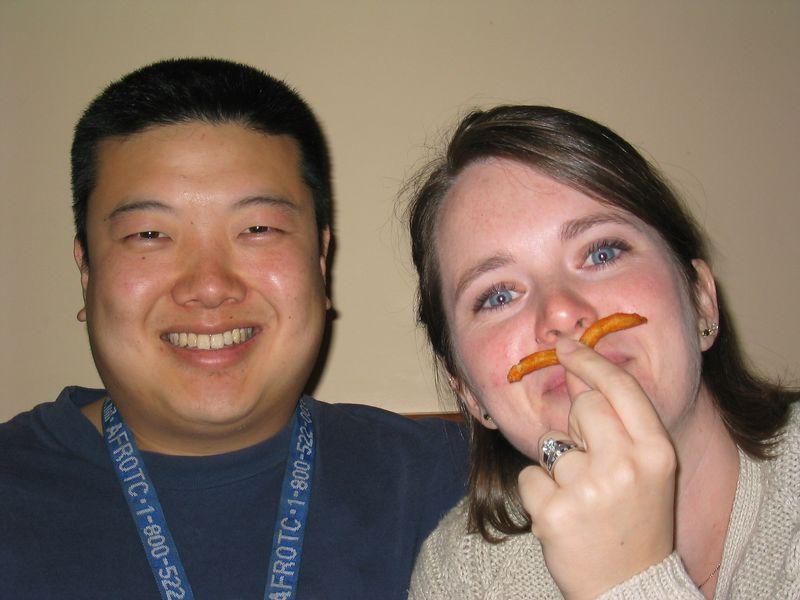 2004 04 27 Tuesday - John & Kimberly Choo @ Fenton's for Community Group