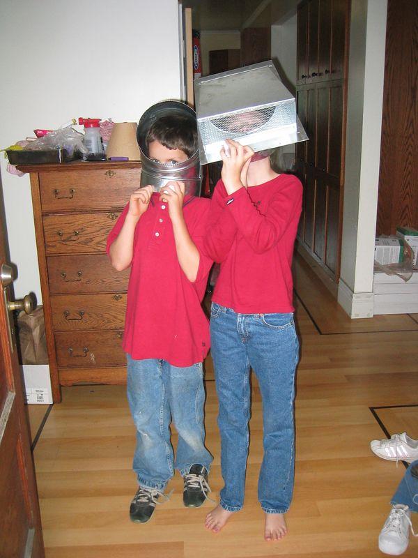 2003 10 07 Tuesday - Spencer & Sarah Tuma, PK's at their best
