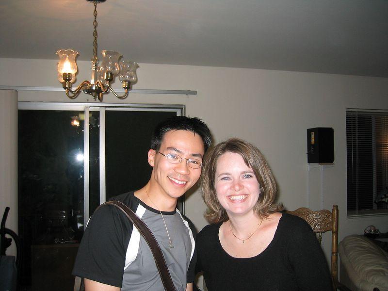 2003 08 30 Saturday - Ben Yu & Kimberly Smith @ Kimberly's Birthday thingy