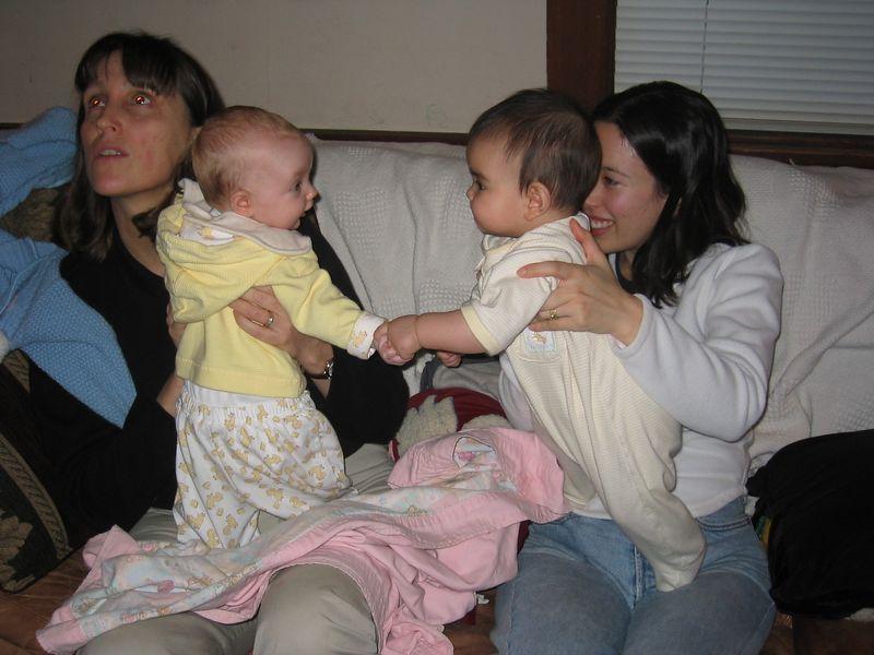 2005 02 05 Saturday - Sophia Tuma & Kira Lee
