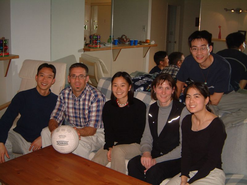 2003 01 15 Thursday - Volleyball Team Pic @ Andy & Aud's