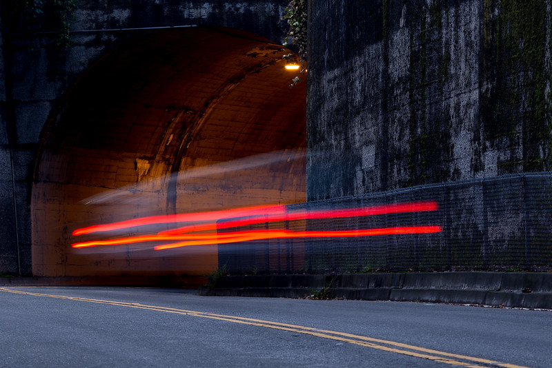 Into the void — Northbrae Solano Avenue Tunnel