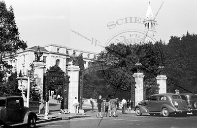 Campus Sather Gate Entrance -1938
