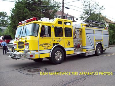 GIBRALTAR FIRE CO. RESCUE 23 2003 E-ONE PUMPER/RESCUE