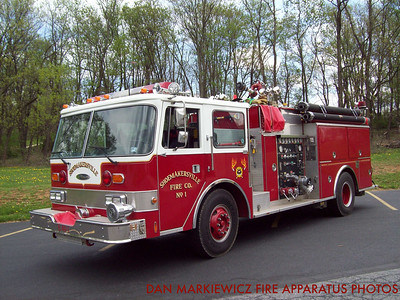 SHOEMAKERSVILLE FIRE CO. ENGINE 40-1 1986 PIERCE PUMPER
