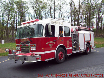 SHOEMAKERSVILLE FIRE CO. ENGINE 40 2006 SPARTAN/ROSENBAUER PUMPER