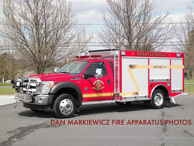 SHARTLESVILLE COMMUNITY FIRE CO. BRUSH 41 2013 FORD/MARCO MINI PUMPER