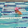 Monument Mountain's Ava Stone slips through the water in the Girls' 200yd Individual Medley.