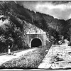 Eastern Portal of the Hoosac Tunnel, 1897. Made from a glass plate owned by Randy Trabold. Berkshire Eagle Archives