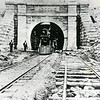 Historic photo of the Hoosac Tunnel. Berkshire Eagle Archives