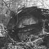 Remains of the first attempt at boring the Hoosac Tunnel with a large, circular boring machine. Berkshire Eagle Archives