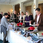 Guests enjoyed a buffet style luncheon.