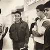 Cruising the mall on its opening day are four friends from Taconic High School, Craig Hoskeer, Todd Townsend, David Harvey and Blase Gilmore.