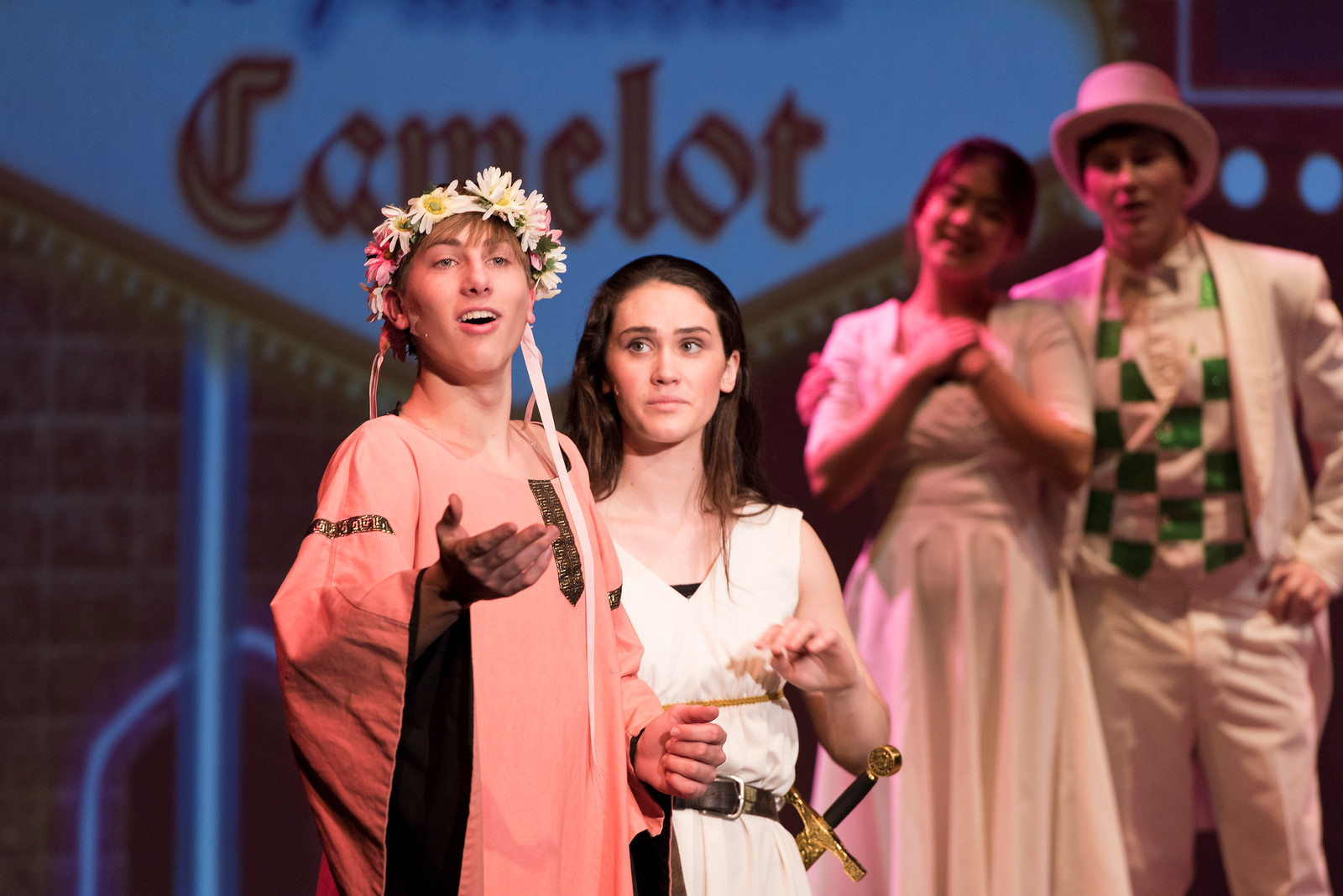 2016-17 Performing Arts - Winter Musical (Spamalot)