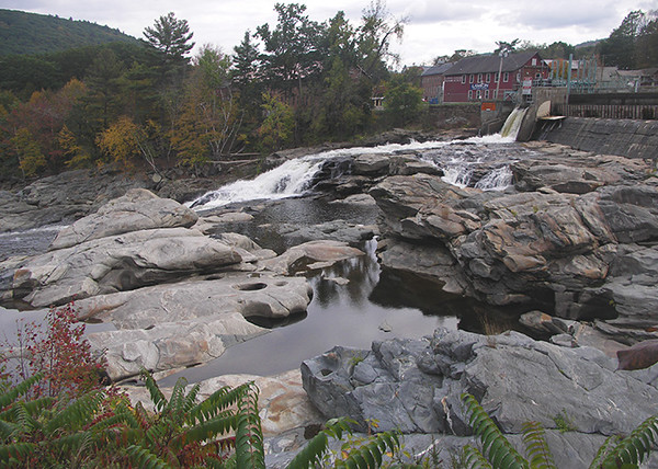 Shelburne Falls Salmon Falls