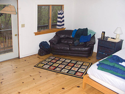 East Mountain Retreat Center, my room.