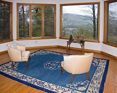 East Mountain Retreat Center, Great Barrington, Berkshires, Massachusetts. The meditation room. This is the last picture of it!