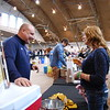 A record breaking crowd of about 315 craft beer tasters came out for the Art of the Brew at the Hamburg Field House on April 7, 2018.<br /> A variety of craft beers from more than 30 breweries were represented at the Our Town Foundation's 5th annual craft beer and wine tasting event that included regional favorites like Saucony Creek, Lancaster, Yuengling, Troegs, and Hamburg's own 1787 Brewing Company, plus many others from across the state and beyond.  Photos by Lisa Mitchell of Hamburg Item