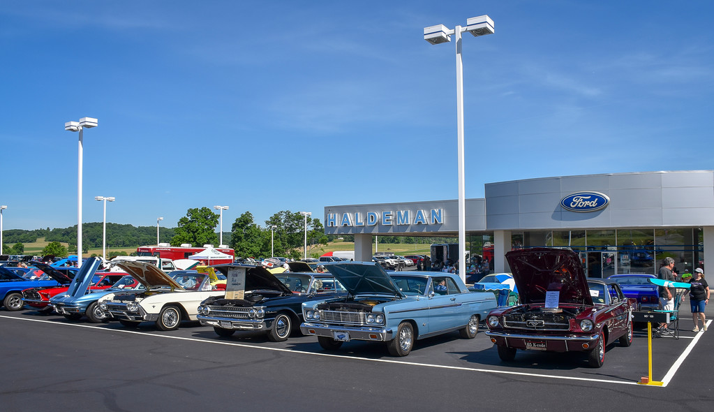 . The Berks County Mustang Car Club promoted and organized the 9th Annual Haldeman Ford Car Show at the Kutztown Haldeman Ford location on June 16, 2018. More than 115 entries participated in the event and $2,000 was raised for the Juvenile Diabetes Research Foundation. Photos by Carl Hess