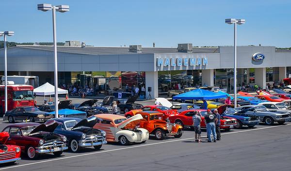 Berks Mustang Club car show