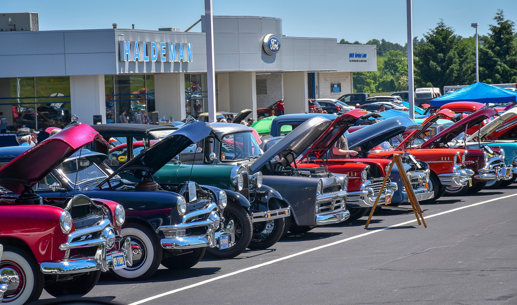 Berks Mustang Club Hosts Th Annual Haldeman Ford Car Show - Haldeman ford car show