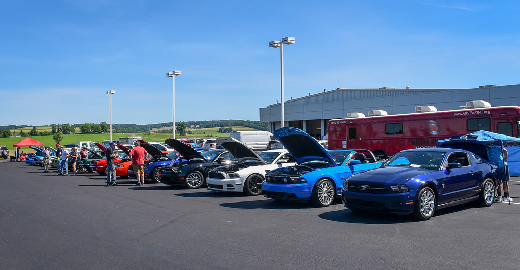 Berks Mustang Club Hosts Th Annual Haldeman Ford Car Show - Haldeman ford car show 2018