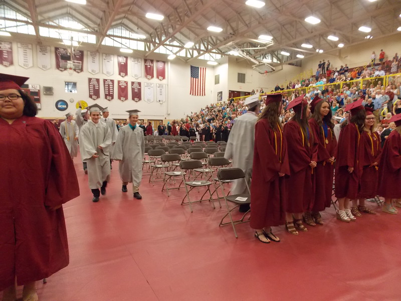 Brandywine Heights Area High School Class of 2017 graduated on May 31, 2017 during commencement held at Kutztown University's Keystone Hall. Photos by Lisa Mitchell