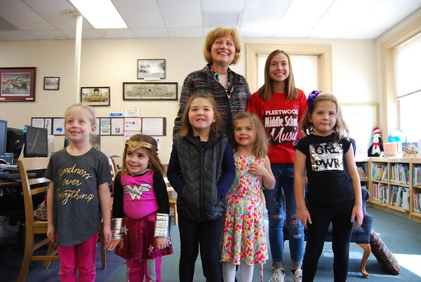 Fleetwood Library Girl Power Story Hour