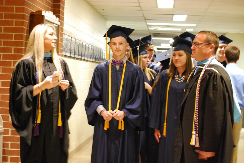 . Kutztown High School Class of 2018 graduation on June 8, 2018. Photos by Lisa Mitchell