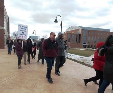 Kutztown University Solidarity March