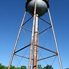 The water tower in Eshbach was taken down on June 23 after standing watch for almost 70 years.