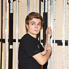 "Erick Johns, Daniel Boone High School student, during the rehearsal for ""High School Musical."""