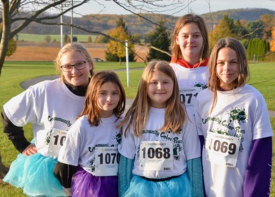 Photos: Daniel Boone Girl Scouts host first Color Run