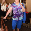 Fashion show model and Women's Club of Exeter member, Eileen Teater.