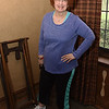 Fashion show model and Women's Club of Exeter member, Linda Lintz shows off her 'Sporty Look.'